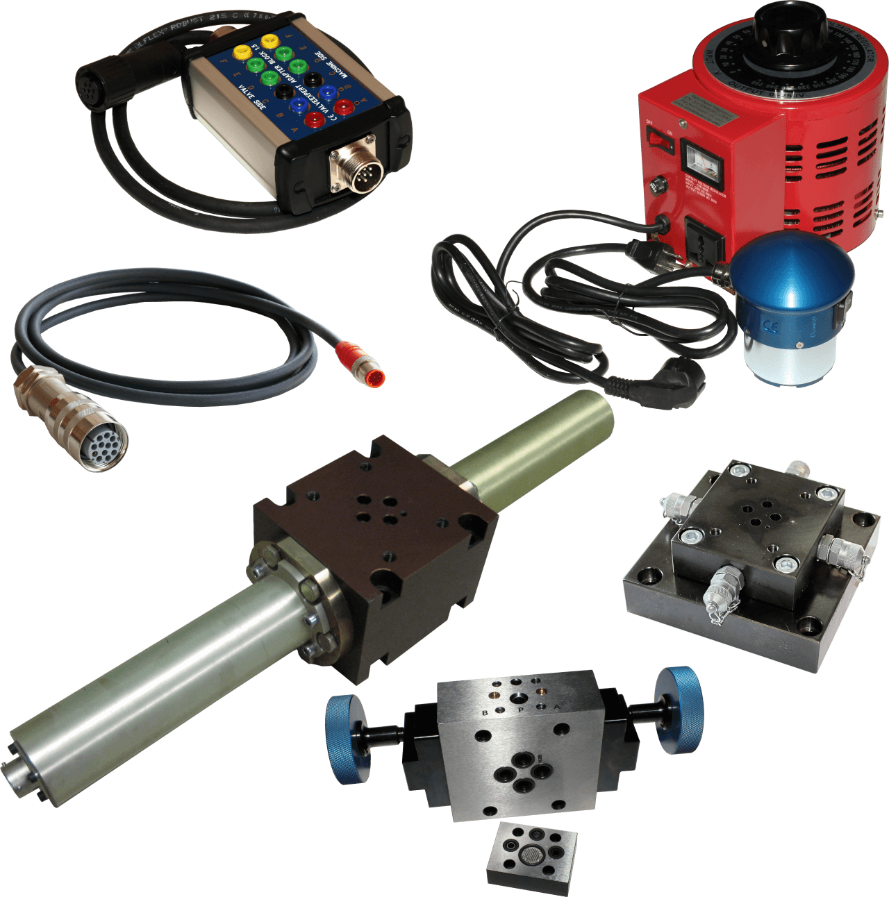 Accessories for servo- and proportional valves test rigs ValveExpert
