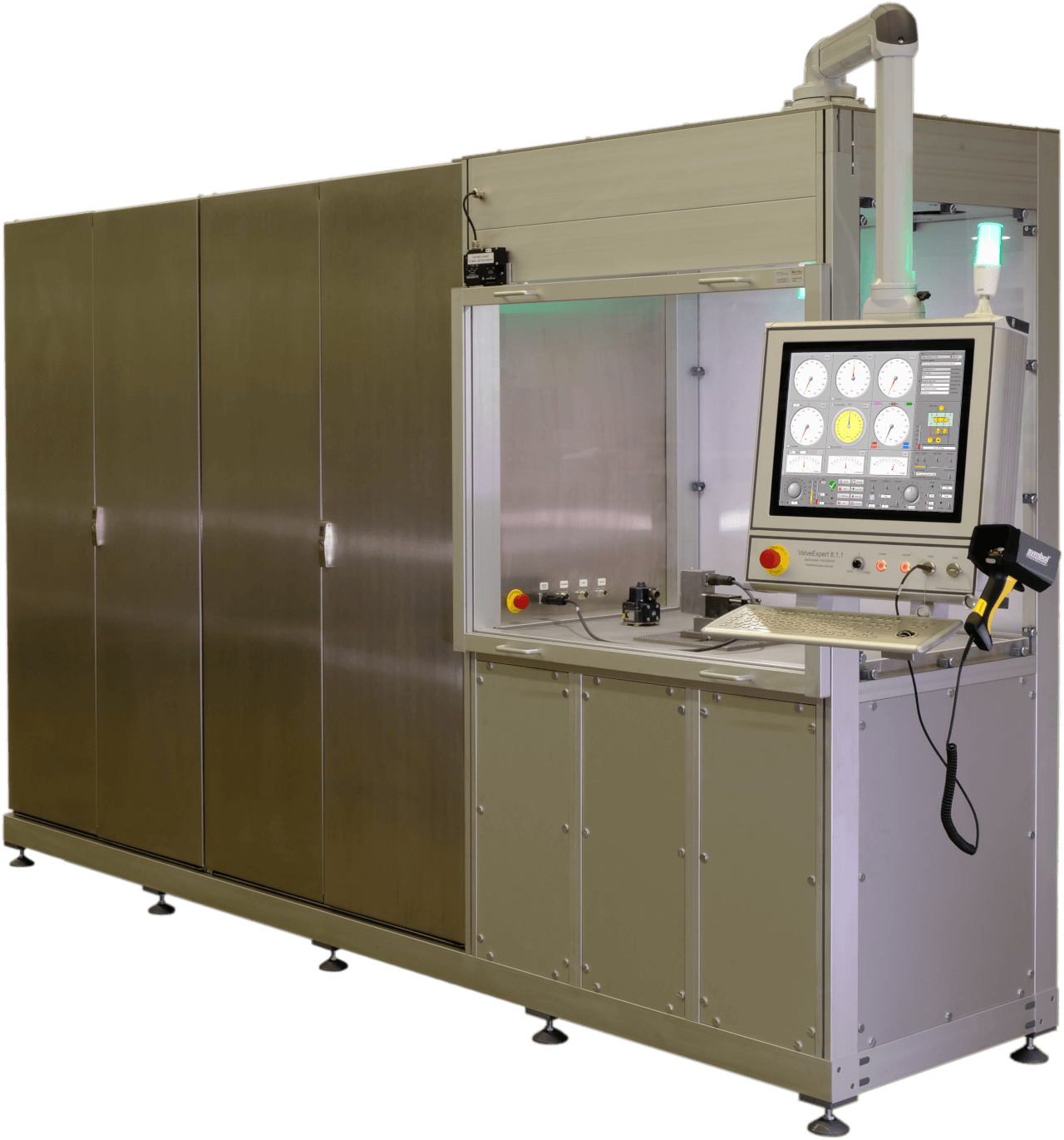 ValveExpert 8.1.1 - Aerospace test stand for hydraulic servo- and proportional valves