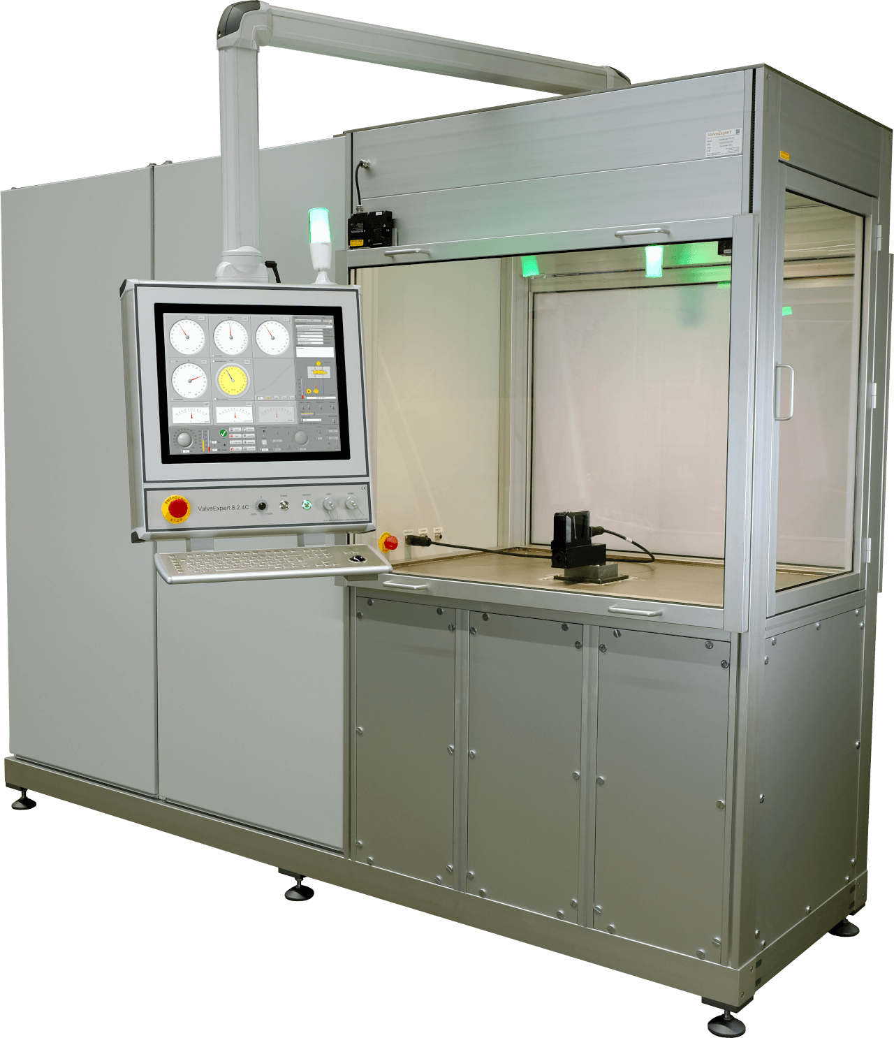 ValveExpert 8.2.4C - Test bench for hydraulic servo- and proportional valves